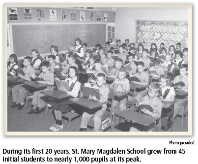 At 75th anniversary, St. Mary Magdalen School cultivates a growth mindset