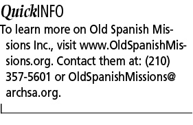 Today and tomorrow for Old Spanish Missions -