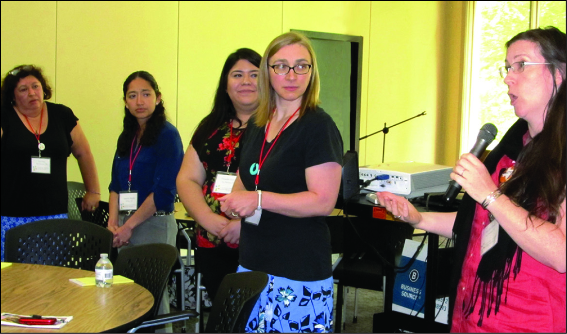 'Joy ride' with Sister Teresa Maya opens Sisters' Project workshop