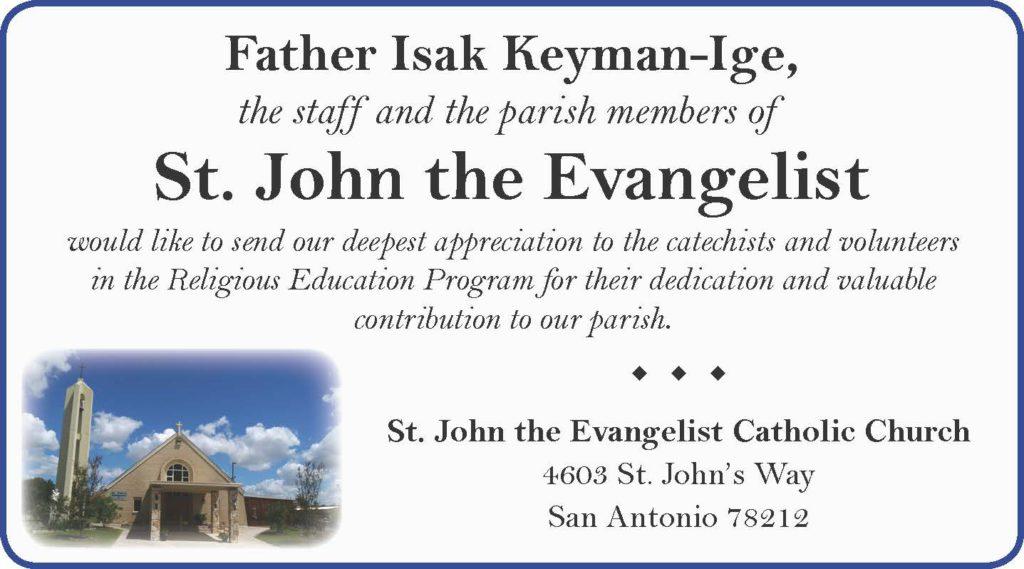 St John the Evangelist CC - 2018 - eighth