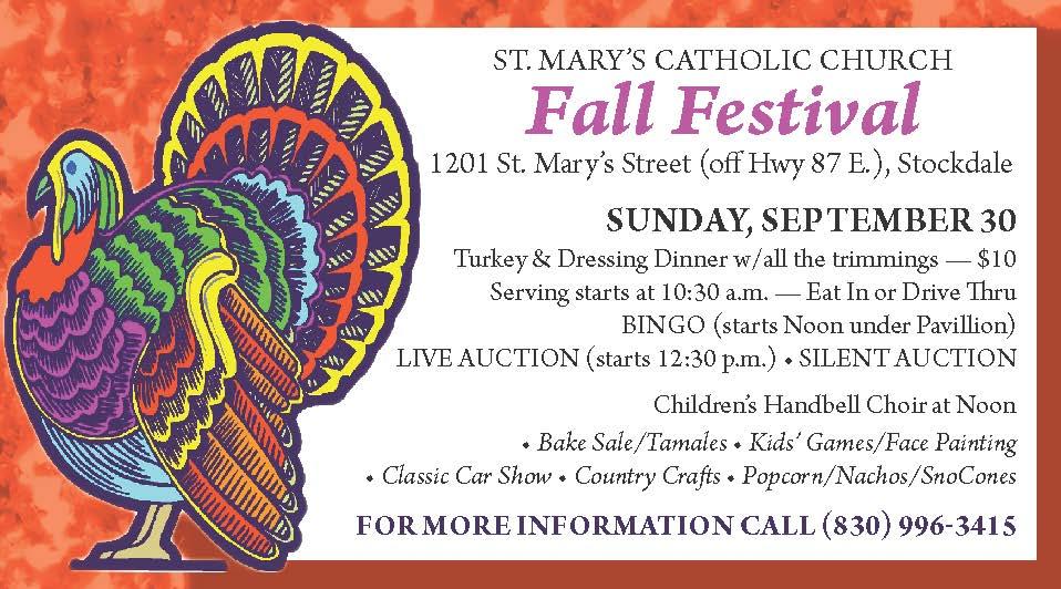 St Marys Catholic Church Fall Festival - Eighth Page