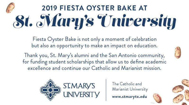 2019 Fiesta Oyster Bake at St. Mary's University