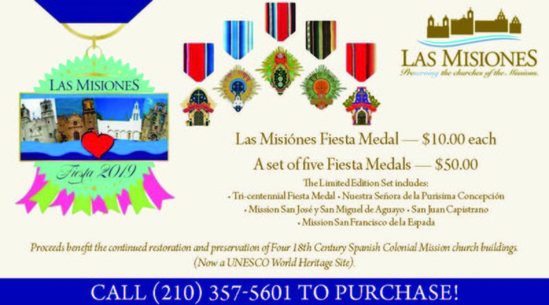 Las Misiónes Fiesta 2019 Fiesta Medals