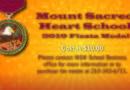 Mount Sacred Heart School 2019 Fiesta Medal