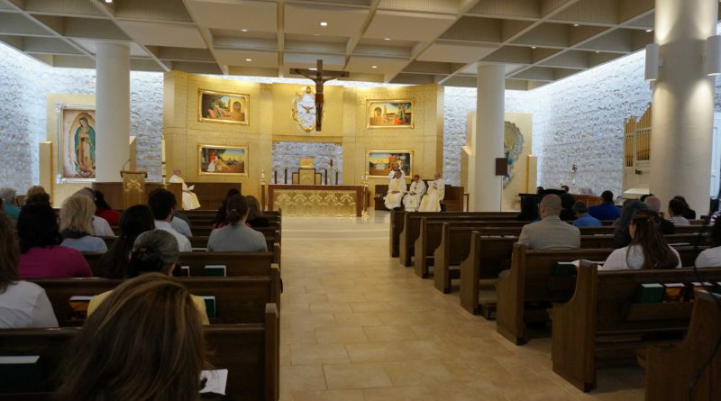 Pastoral Employees celebrate the 35th Anniversary of Presbyteral Ordination of Archbishop Gustavo