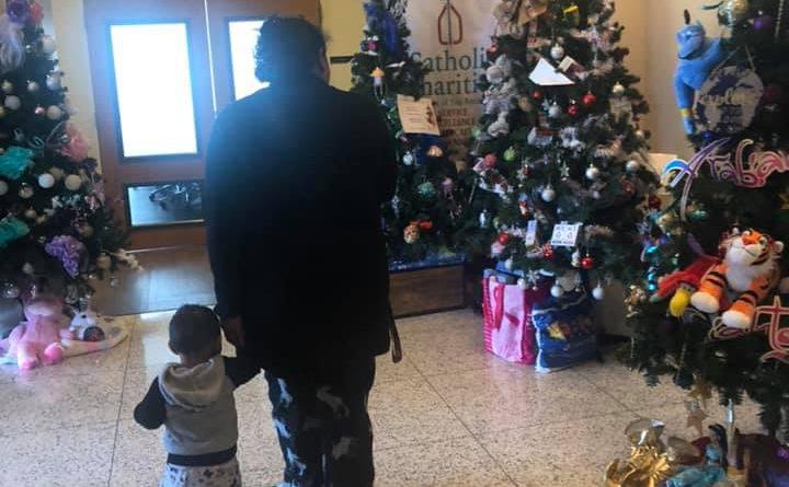 The Children's Hospital of San Antonio donates trees to Catholic Charities