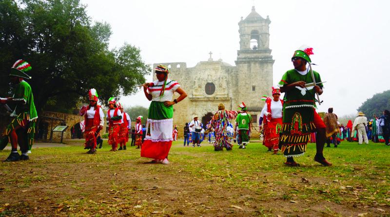 Matachines pilgrimage moving