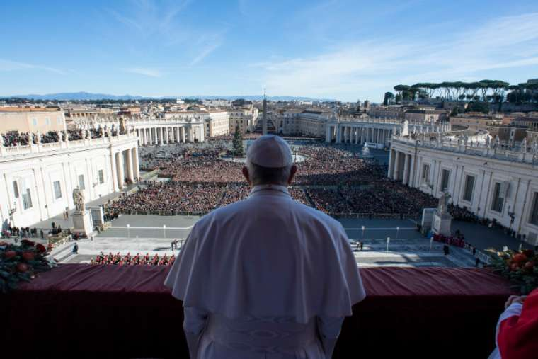 Pope Urbi Et Orbi Christmas 2020 Pope Francis to give a special Urbi et Orbi blessing amid