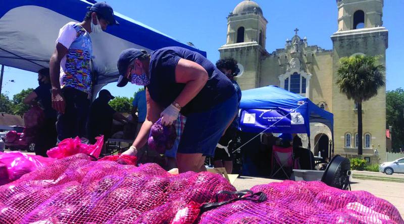 St. Gerard Church holds community food drive