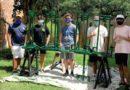 Central Catholic seniors build hand sanitizer stations for St. Luke's School