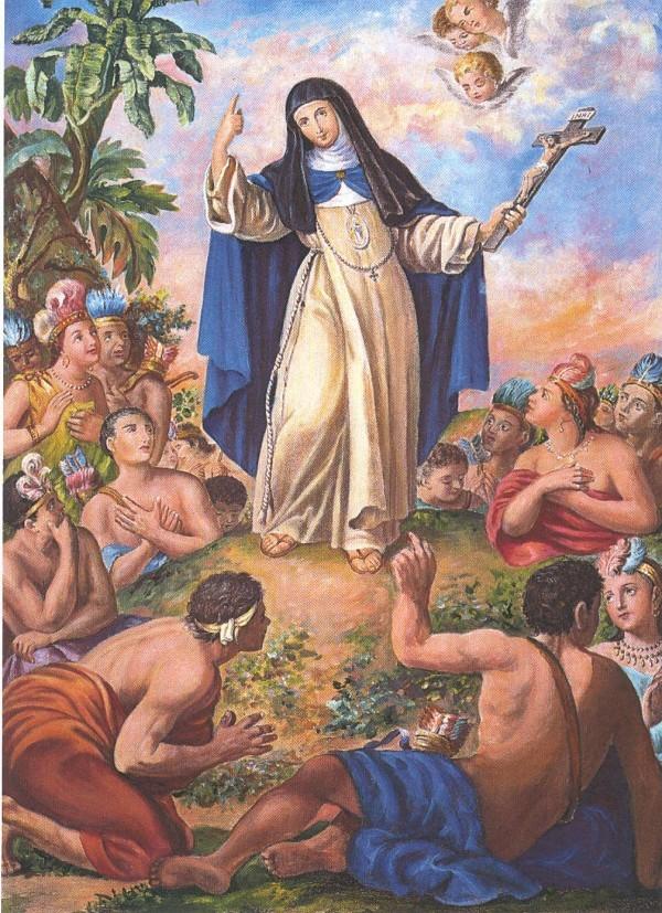 Sor María de Jesús de Agreda:  The Lady in Blue
